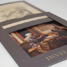 Graphic Design Printed Invitations